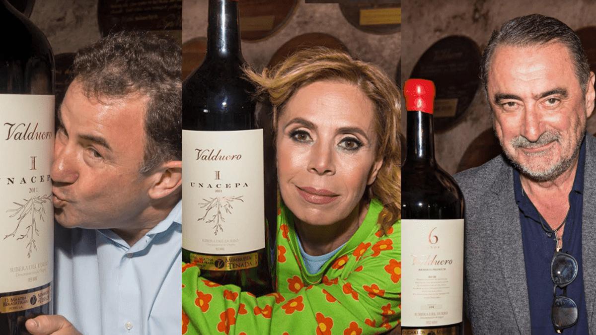 Martin Berasategui, Agatha Ruíz de La Prada y Carlos Herrera, socios de Valduero.