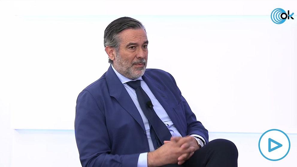 El consejero madrileño, Enrique López, en HOY RESPONDE