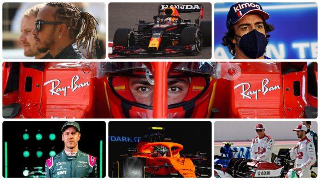 Equipos y pilotos de Fórmula 1 para la temporada 2021