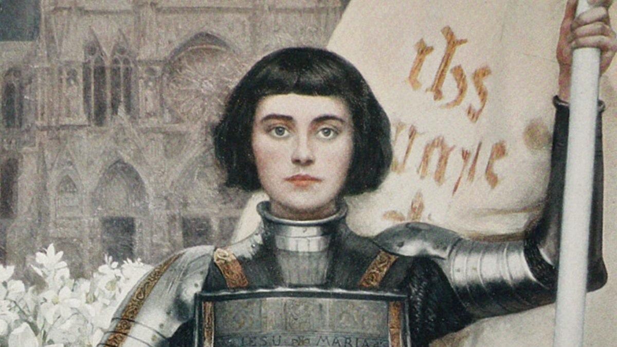 Juana de Arco fue quemada en la hoguera
