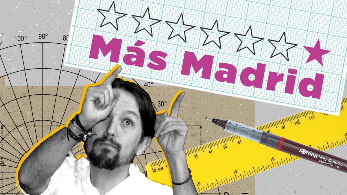 Pablo Iglesias intentó robarle la marca de 'Más Madrid' a Íñigo Errejón