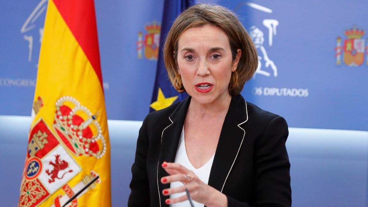 La portavoz del PP en el Congreso, Cuca Gamarra. (Foto: Efe)