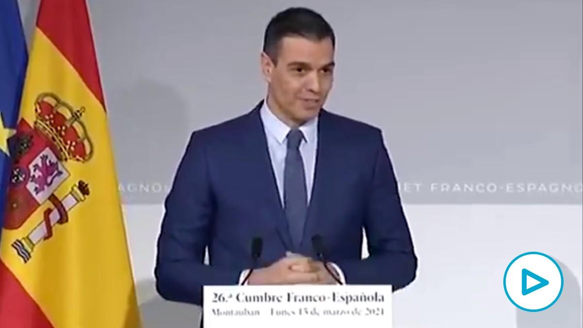 El elogio envenenado de Pedro Sánchez a Pablo Iglesias: «Le he reconocido su labor con las residencias de mayores».