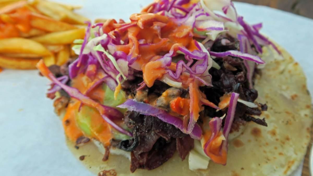 Tacos de Jamaica, receta internacional