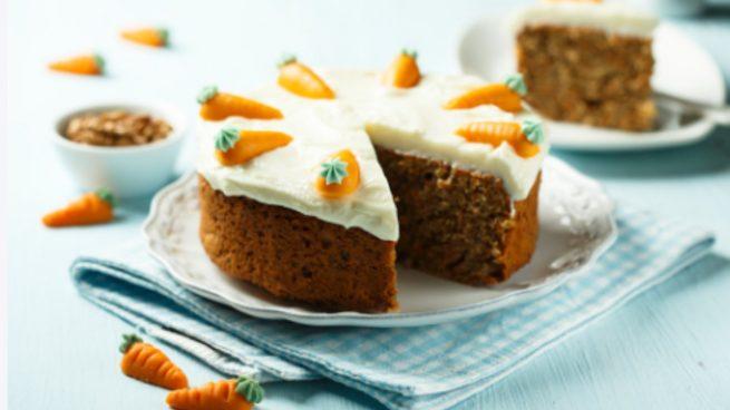 4 recetas de tarta de zanahoria casera, originales y deliciosas