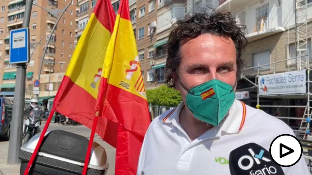 Vox pide elecciones en Murcia con una caravana liderada por Ortega Smith