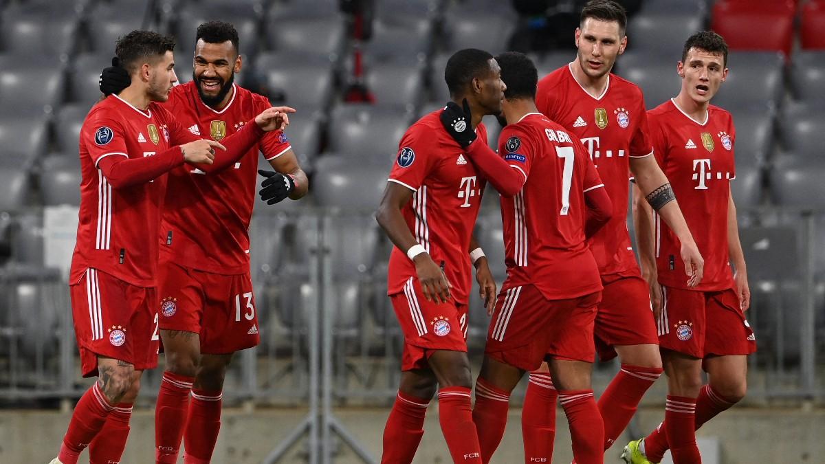 El Bayern ya está en cuartos de final. (AFP)