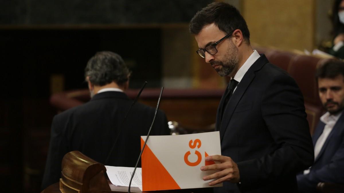Pablo Cambronero, diputado de Ciudadanos. (Foto: EP)