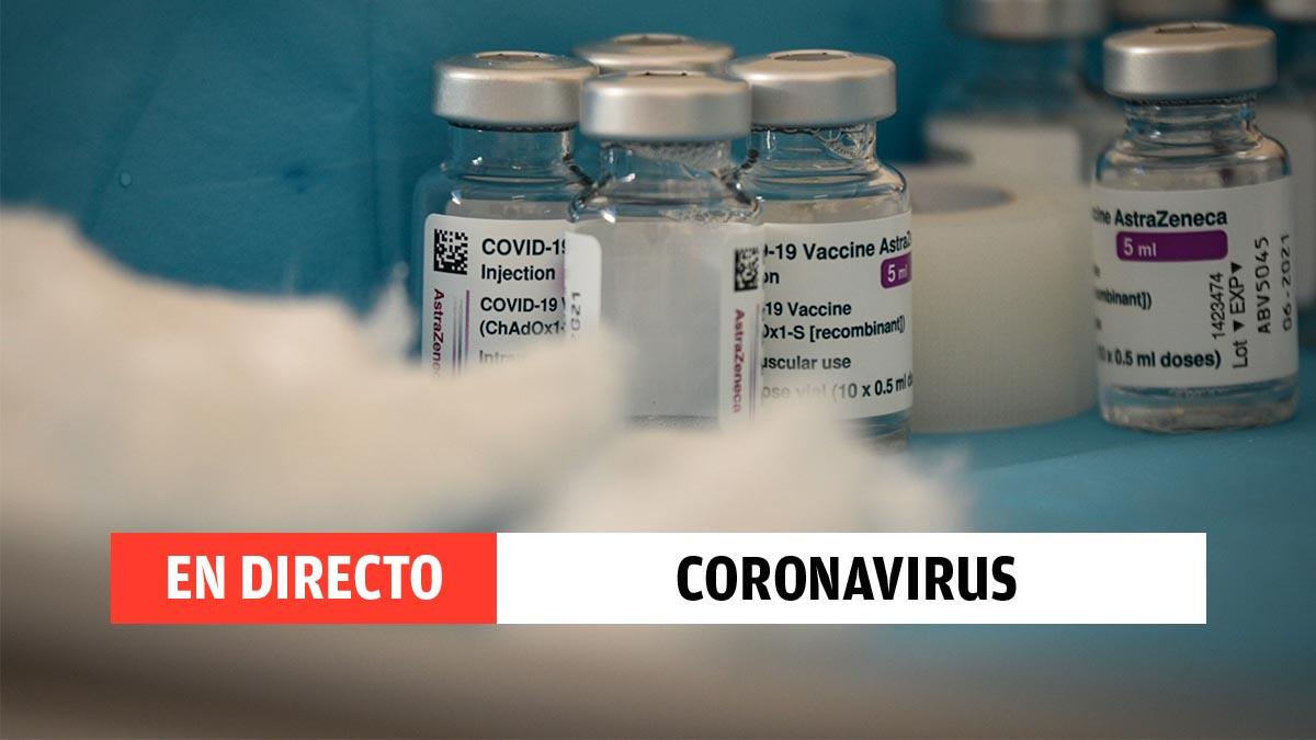 Directo sobre el coronavirus, hoy en directo en España