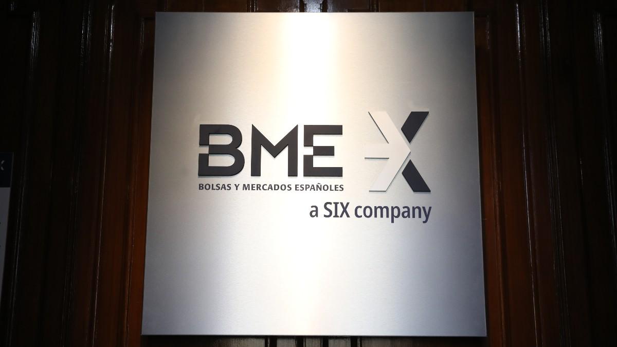 Bolsa y Mercados Españoles (BME) en el Palacio de la Bolsa