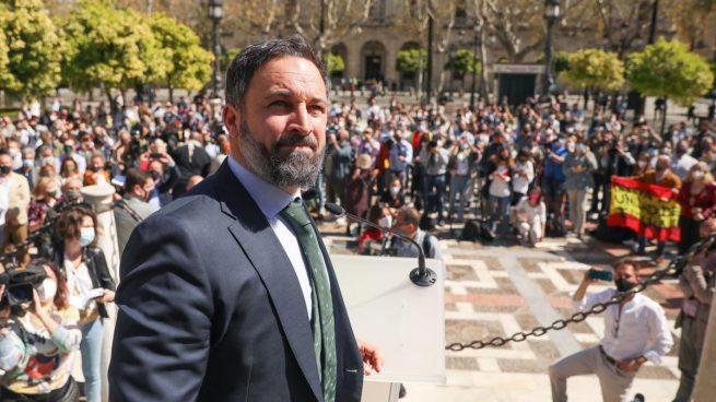 Santiago Abascal, en Sevilla.