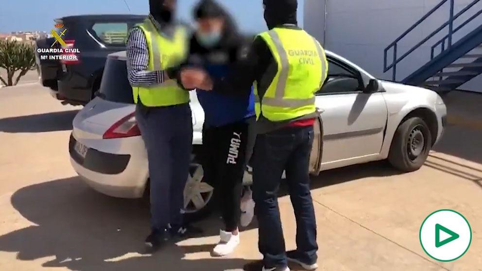 La Guardia civil detiene a un yihadista en Melilla.