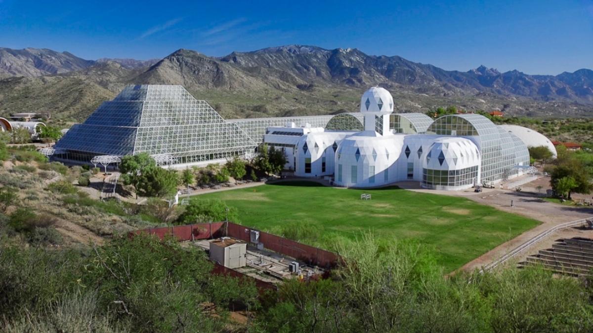 El proyecto Biosfera 2 en Arizona