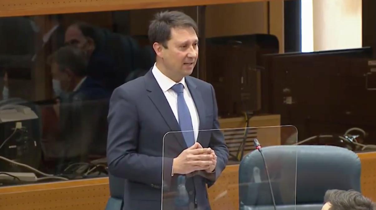 Enrique Martínez Cantero, ex diputado de Ciudadanos en la Asamblea de Madrid.
