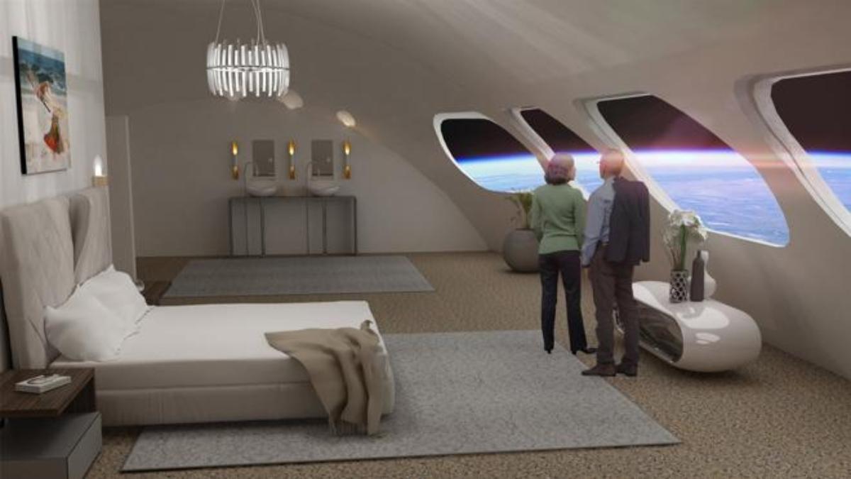 Voyager, el primer hotel del espacio