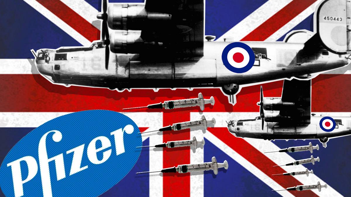 Londres contraataca en la guerra de las vacunas: atribuye a Pfizer 26 muertes por fallo cardíaco