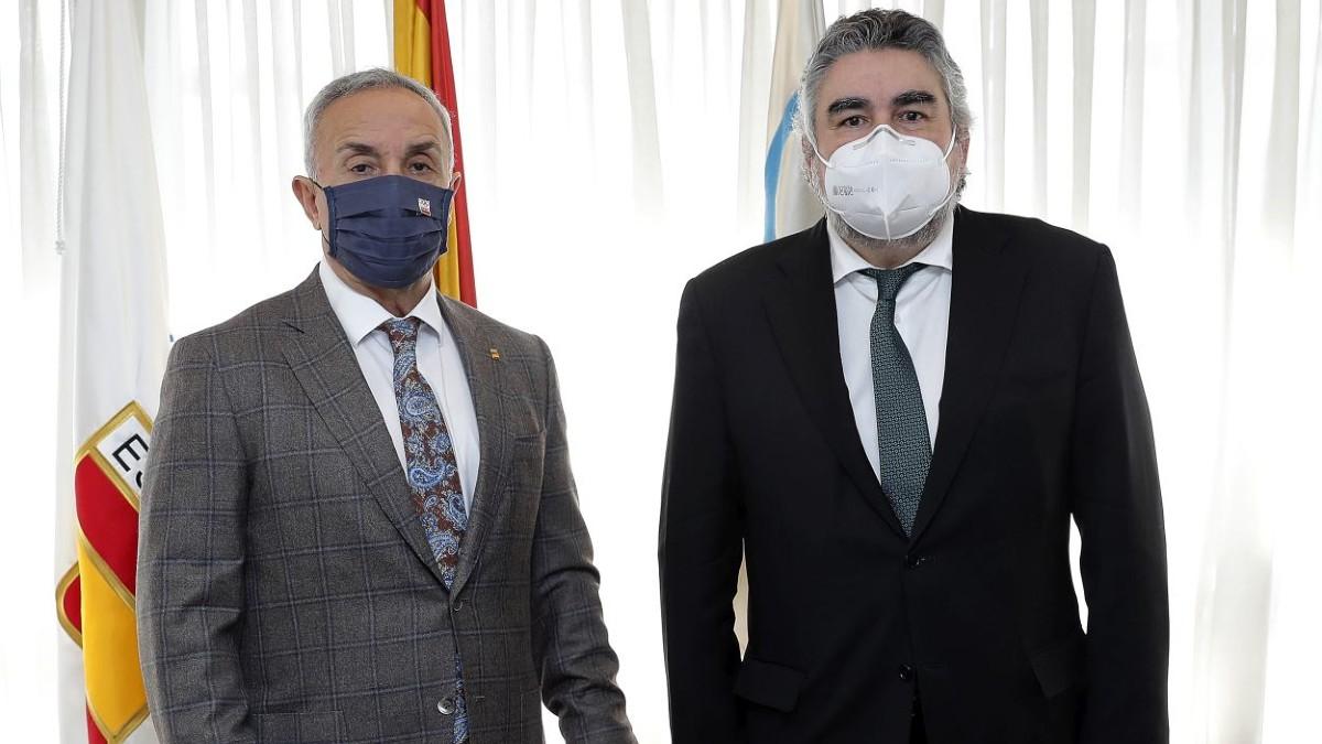 Alejandro Blanco y José Manuel Rodríguez Uribes.