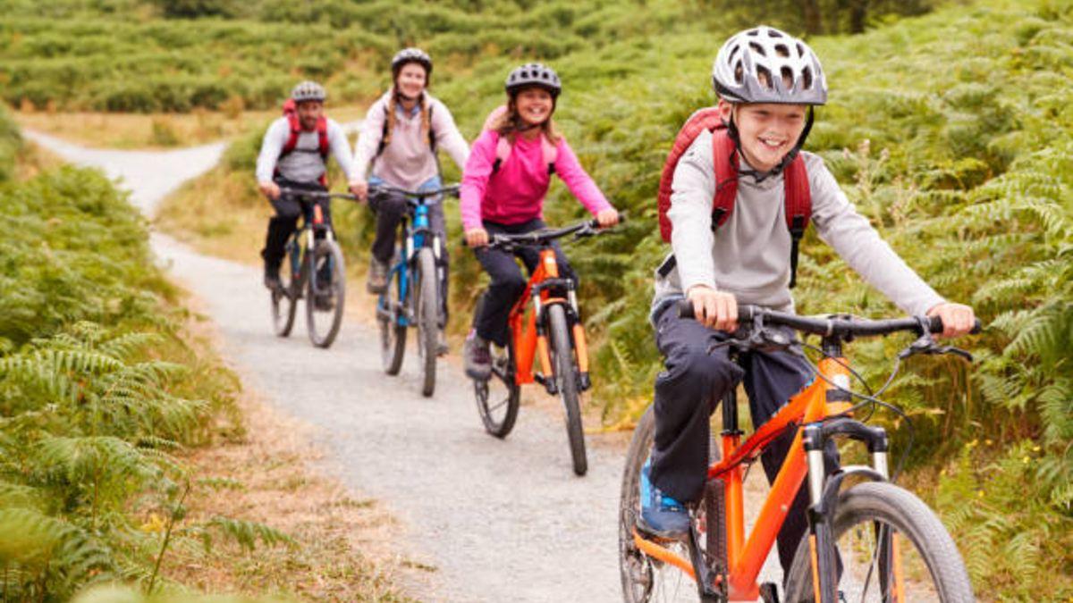 Los beneficios del ciclismo para los niños