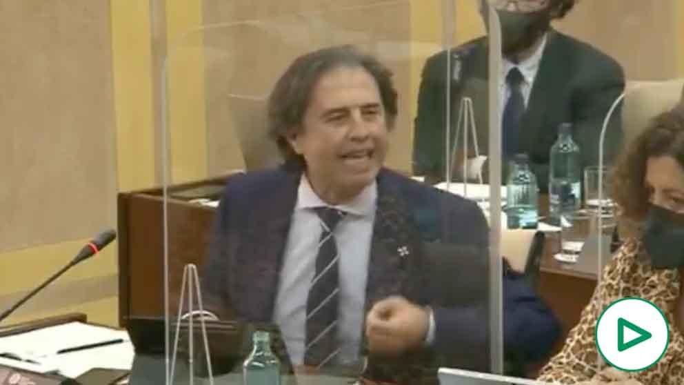 Benito Morillo, diputado de Vox en el Parlamento de Andalucía.