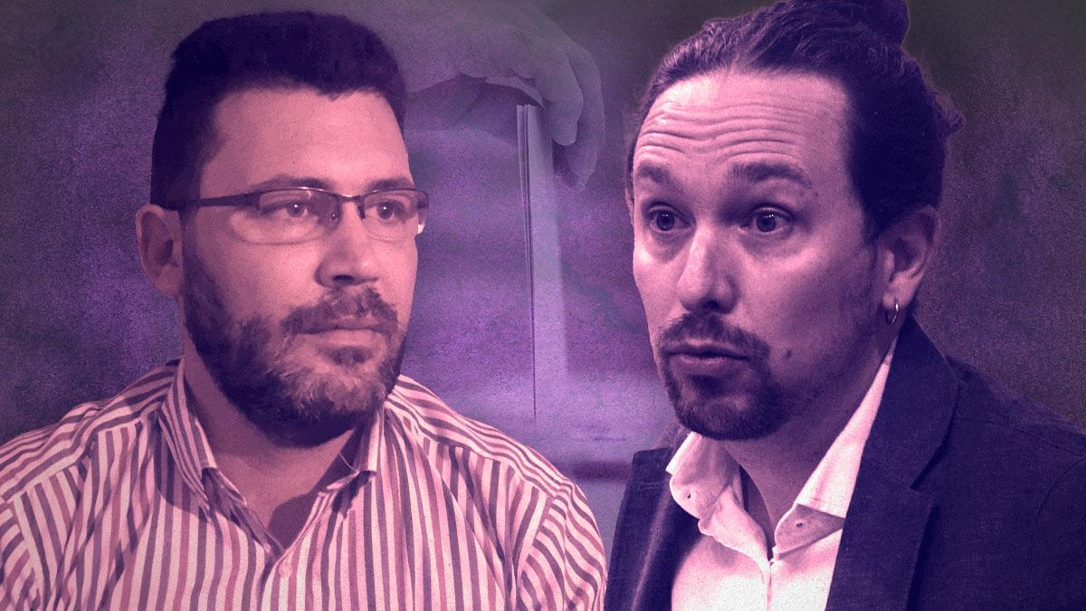 Iván Almerich y Pablo Iglesias.