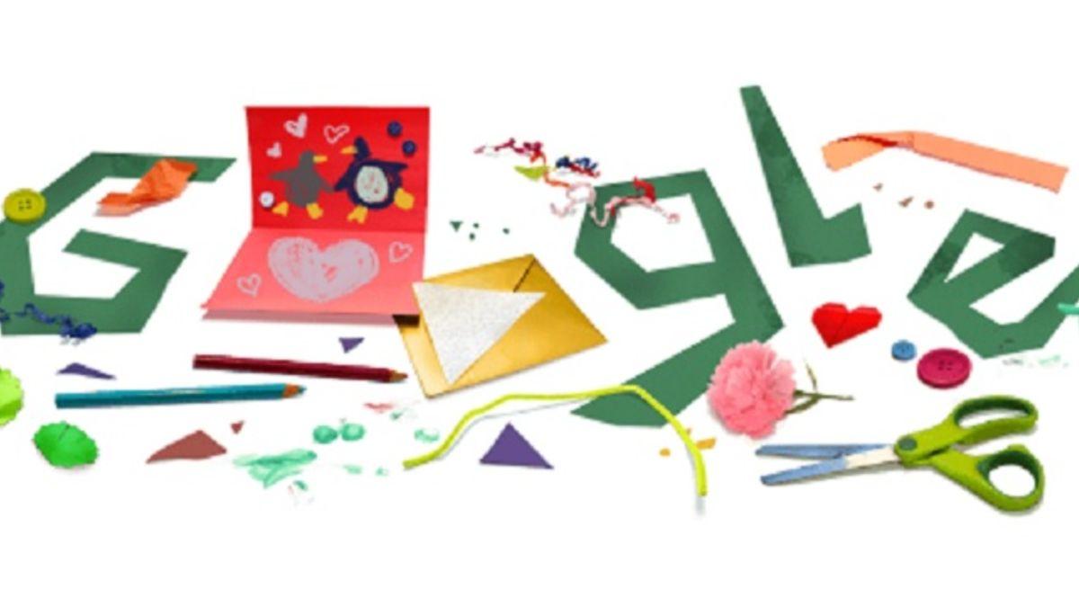 Imagen del Doodle que Google le dedica al Día del Padre 2021