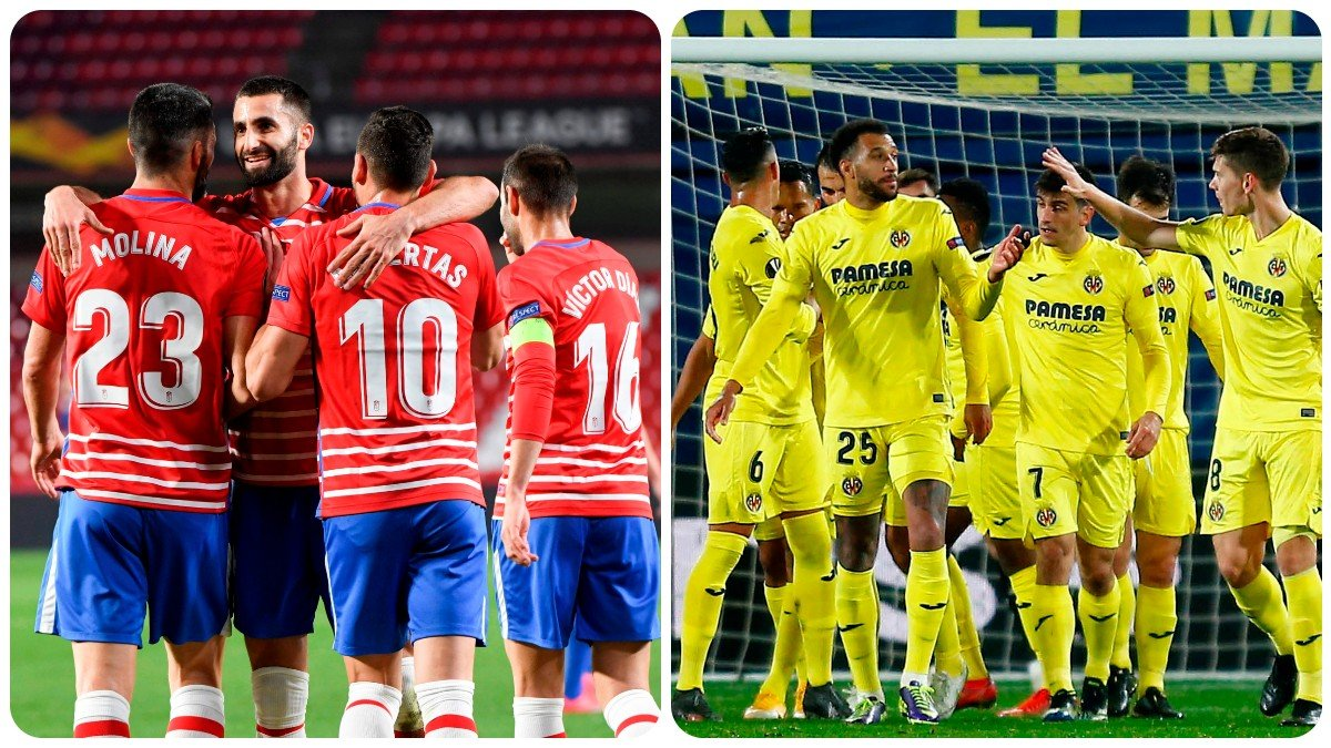 Granada – United y Dinamo de Zagreb – Villarreal en los cuartos de final de la Europa League. (EFE)