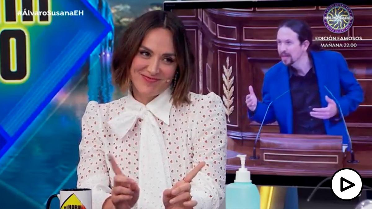 Tamara Falcó a Pablo Iglesias: «Podemos, en Madrid no te queremos».