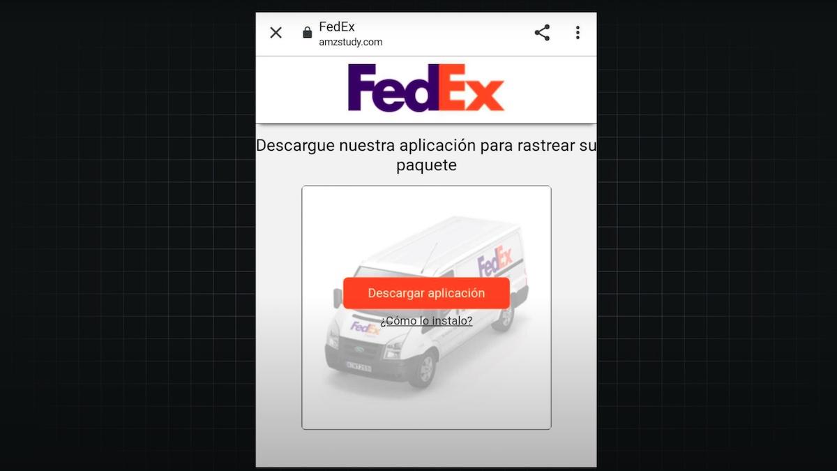 Virus FedEx
