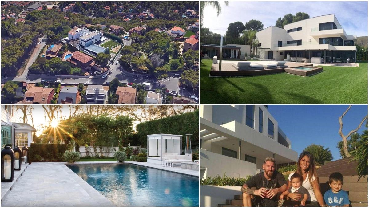 La impresionante mansión de Leo Messi