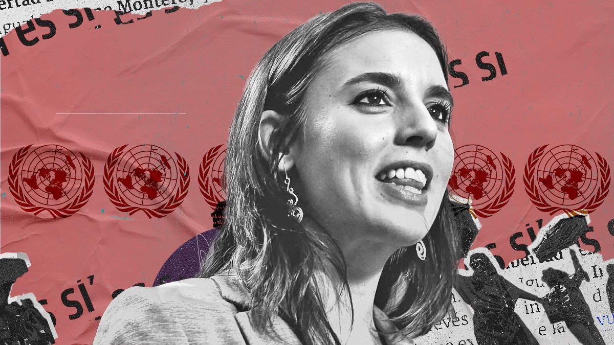 Desafío al CGPJ: Montero lleva a un foro de la ONU su ley del 'sólo sí es sí' criticada por los jueces