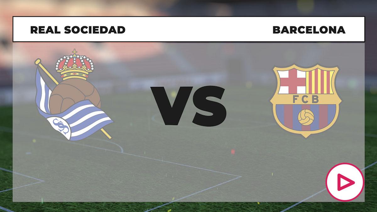 Liga Santander 2020-2021: Real Sociedad – Barcelona | Horario del partido de fútbol de la Liga Santander.