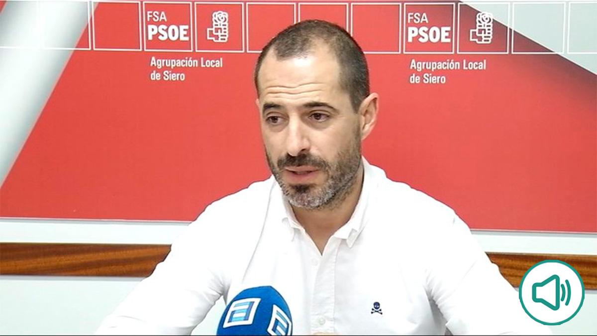 El alcalde de Siero (Asturias), Ángel García.