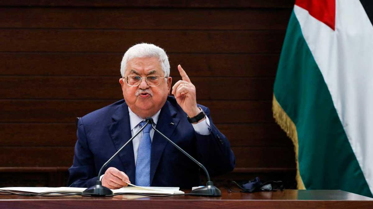 Mahmoud Abbas, presidente de Palestina. Foto: AFP
