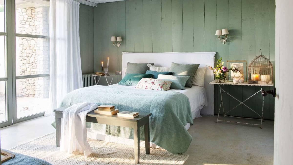 El verde es uno de los colores más utilizados en el hogar