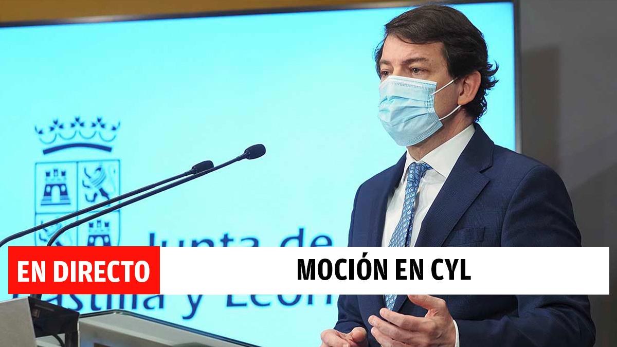 Directo sobre la moción de censura en Castilla y León