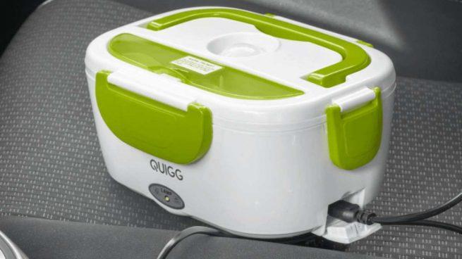 Descubre cómo es la fiambrera eléctrica que mantiene caliente la comida