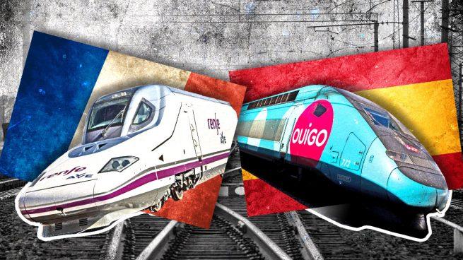 Renfe y Ouigo luchan en la línea de AVE Madrid-Barcelona.