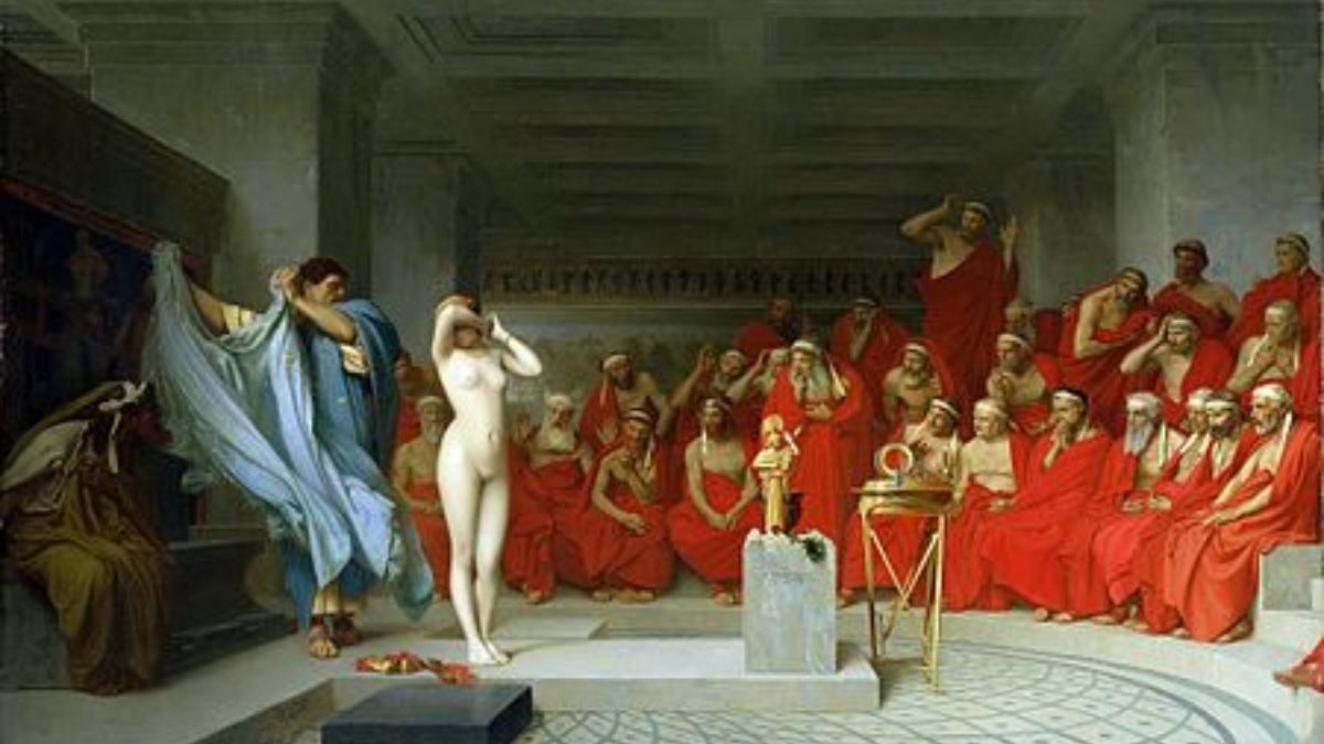 La historia de Friné de Grecia