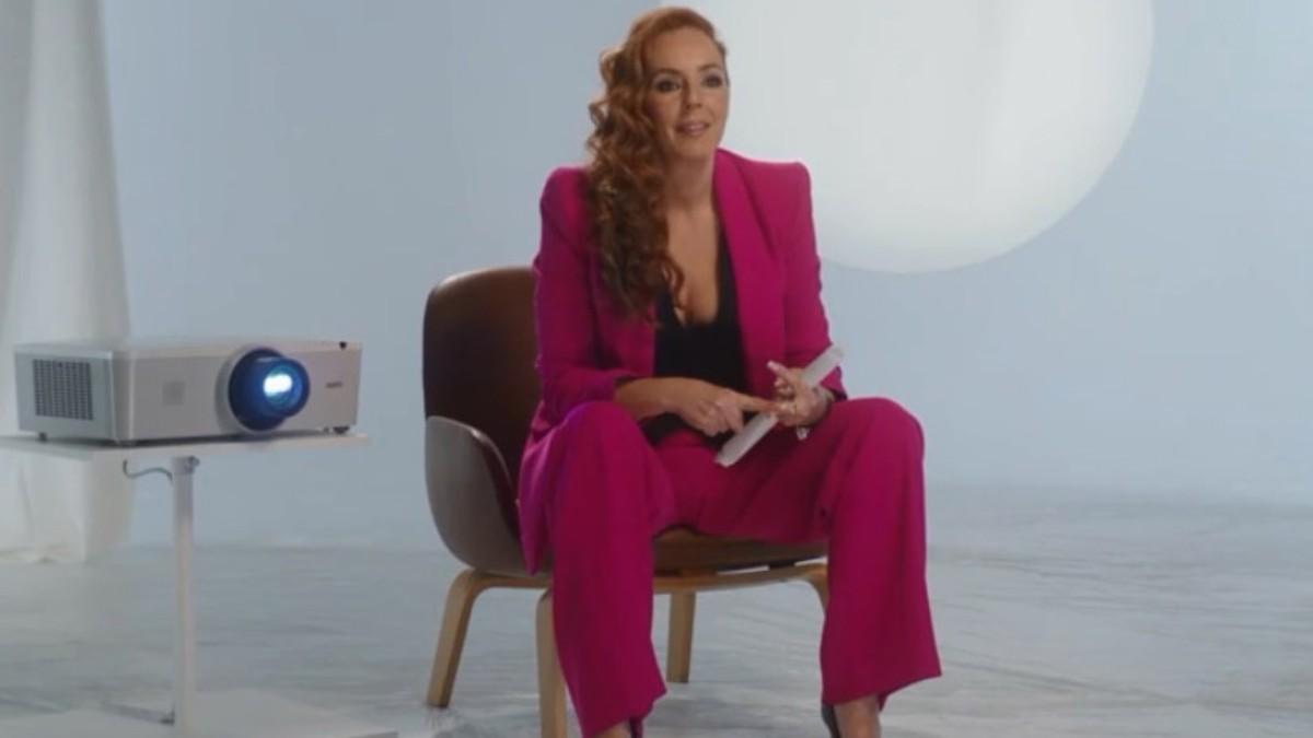 Rocío Carrasco, durante su confesión televisiva.