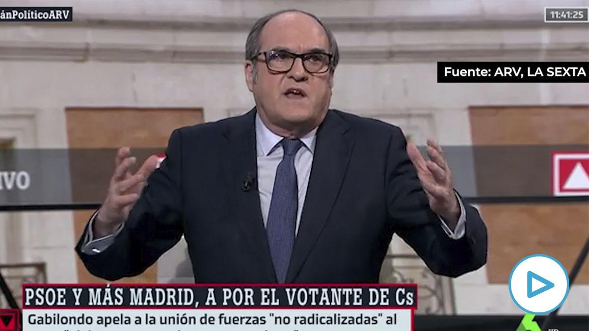 Ángel Gabilondo, candidato del PSOE a las elecciones del 4M
