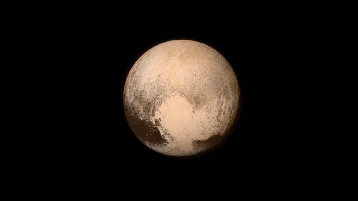 Océano subterráneo de Plutón