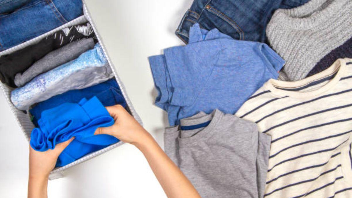 Las pautas para ordenar bien el armario de los niños