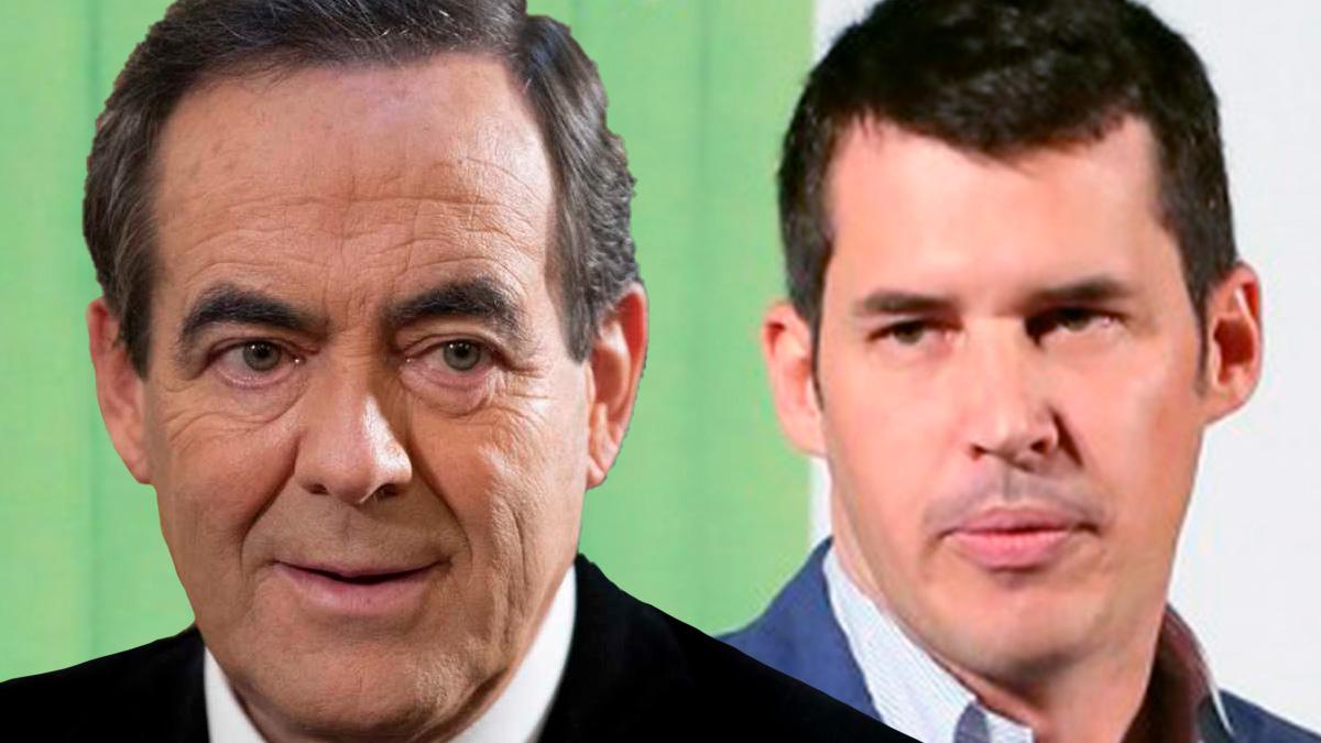 Los dirigentes socialistas José Bono y Juan Segovia.
