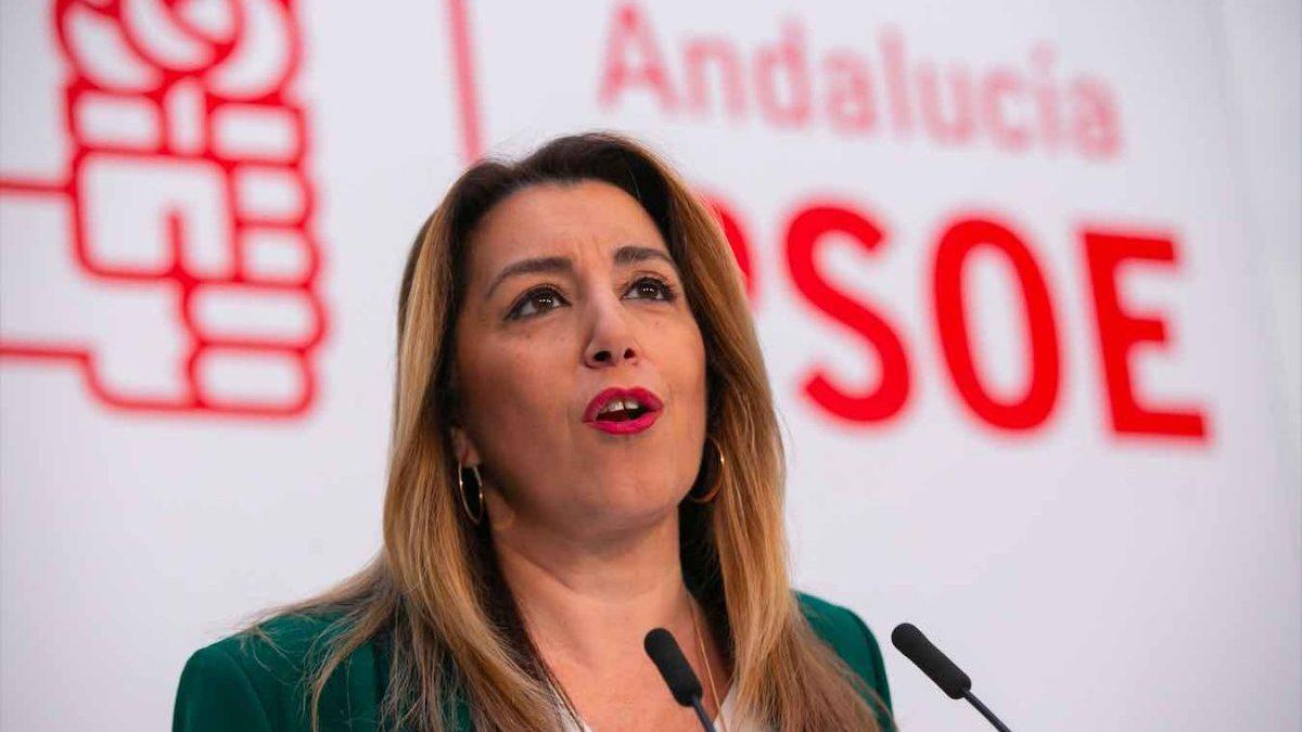 Susana Díaz, secretaria general del PSOE-A.