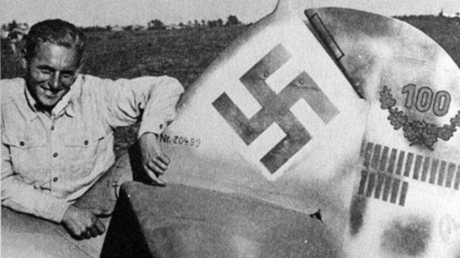Erich-Hartmann-nazi-hitler