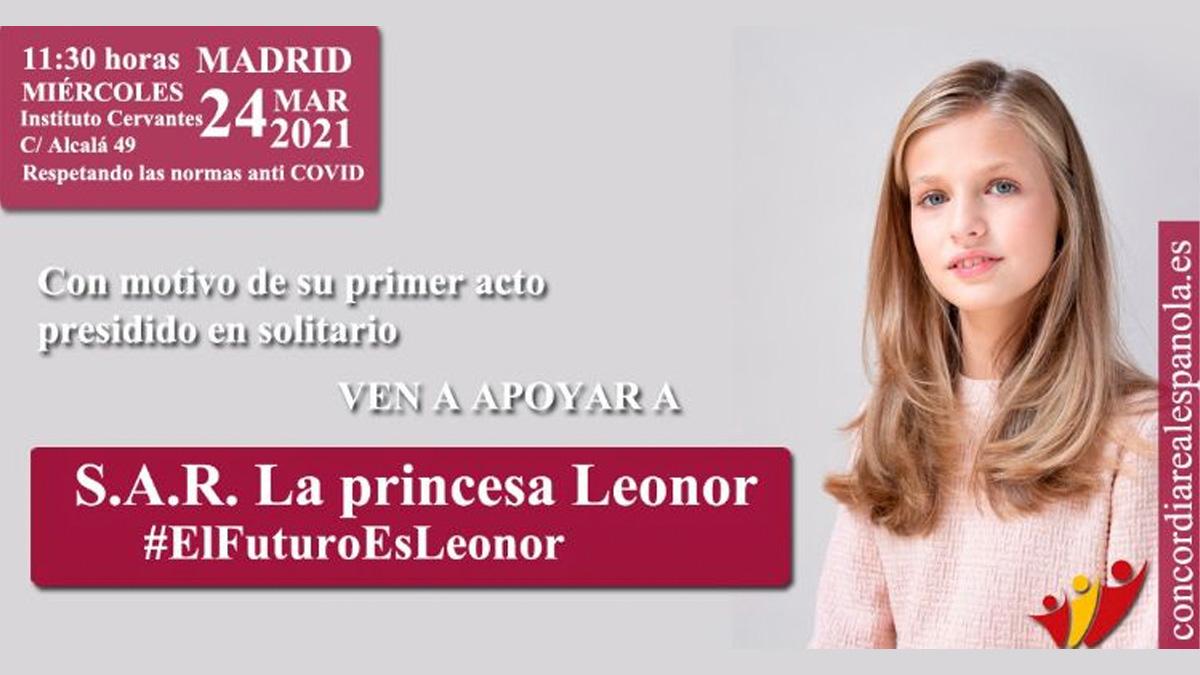 Convocatoria de Concordia Real Española.