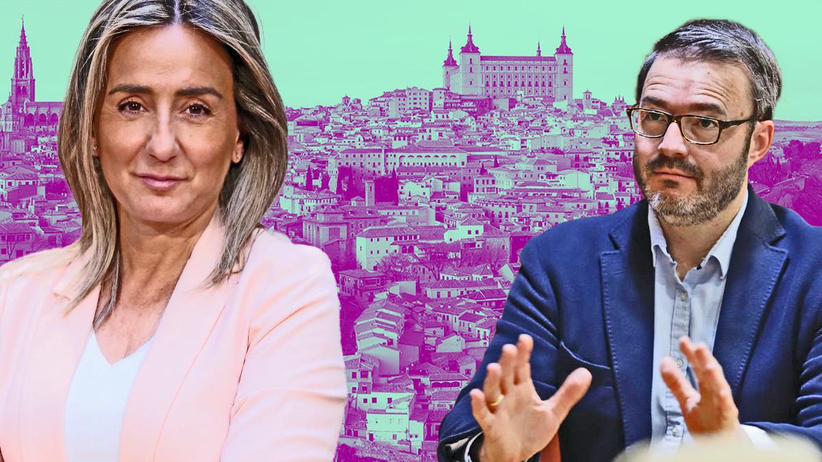La alcaldesa de Toledo, Milagros Tolón, y el alcalde de Palma, José Hila.