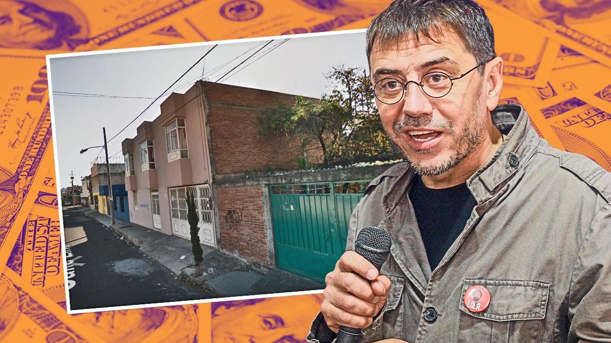 Monedero giró su factura 'fake' de Neurona a una casa en un suburbio del narco mexicano.