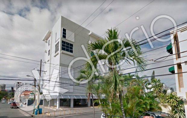 Edificio de Santo Domingo en el que están domiciliadas las sociedades de José Bono y Juan Segovia.