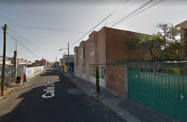 Calle Zinc en Moreira, dirección mexicana a la que Juan Carlos Monedero giró su factura.